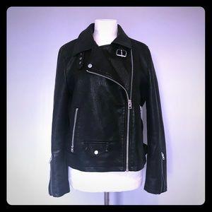 Topshop moto jacket